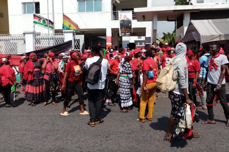 NDC Women's Wing embarks on demonstration