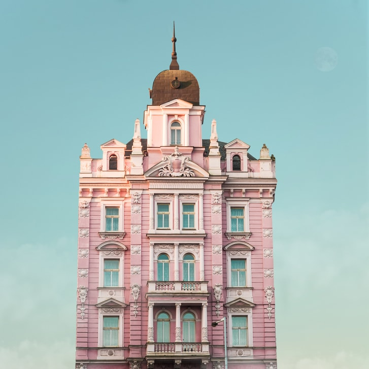 Real-world locations straight out of a Wes Anderson movie