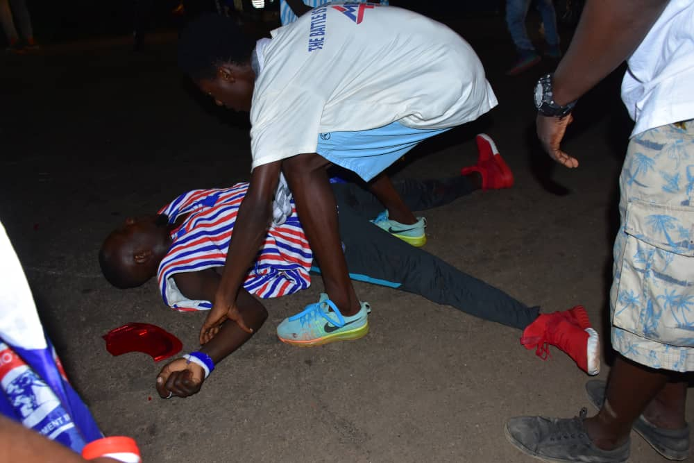 Two NPP supporters in Obuasi involved in accident during victory celebrations
