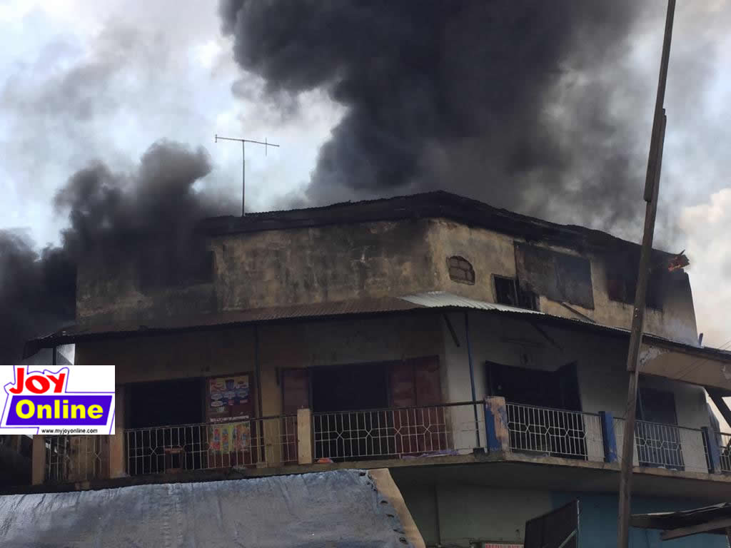 Two arrested over Aboabo station fire