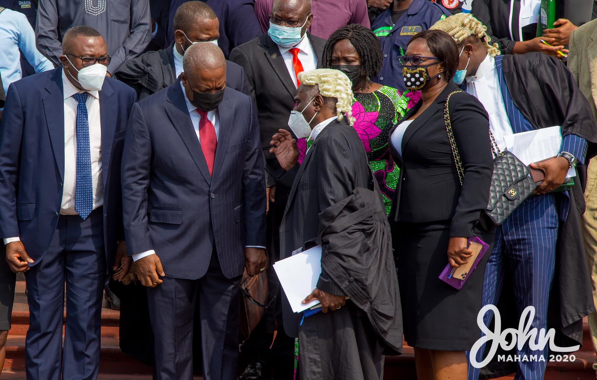 NDC Mahama lawyers to file fresh motion to inspect document in EC's custody