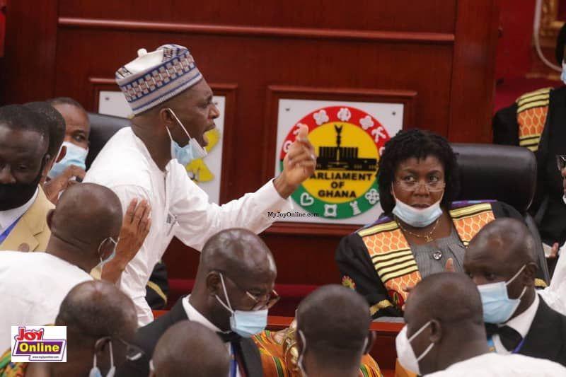 Muntaka Mubarak deserves national award for defending constitution - Asiedu Nketia on scuffle in Parliament