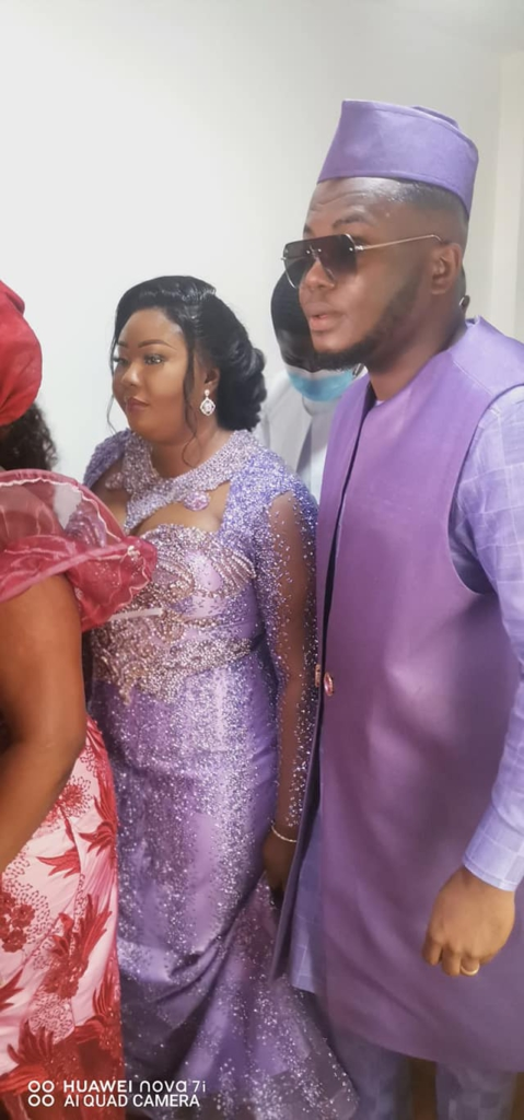 MP for Kwabre East, Francisca Oteng, ties the knot