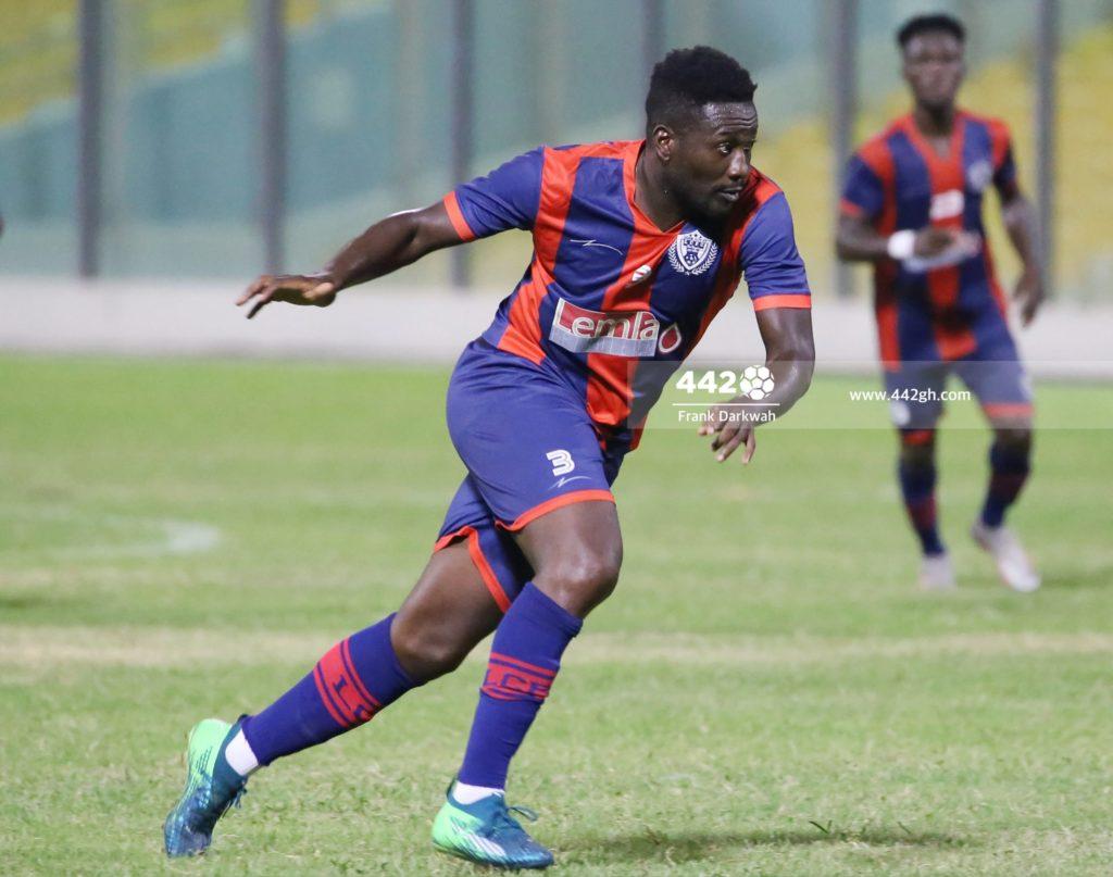 Asamoah Gyan Bashir Hayford