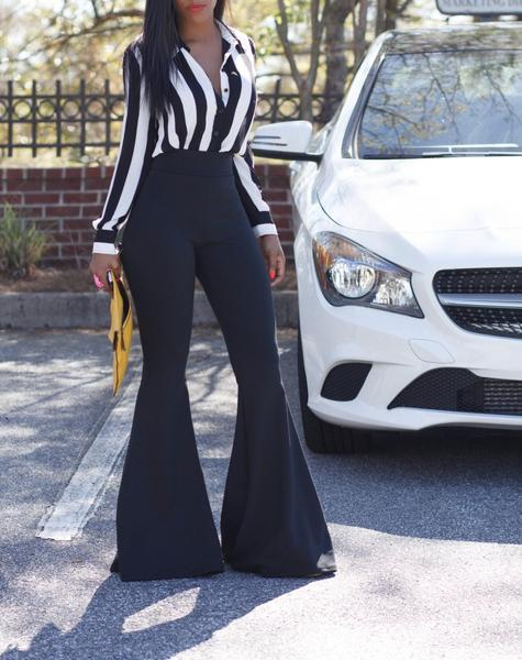 Bell-Bottom jeans can be worn to any occasion! here is how
