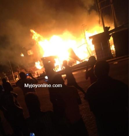 Fire guts nursery school, shop at Madina