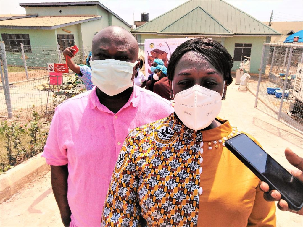 GTA supports Kumasi South Hospital in campaign against Covid-19