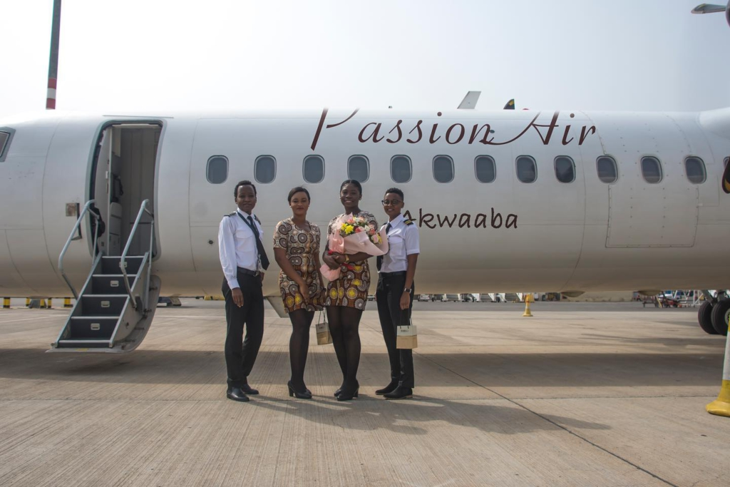 PassionAir makes history with all-female flight crew [Photos] 10