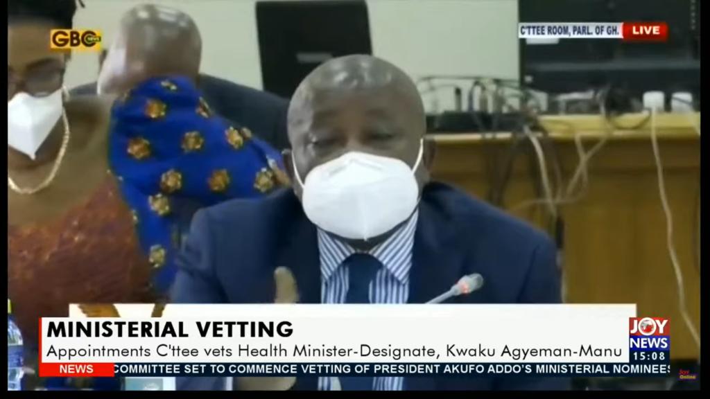 I didn't interrogate procurement processes for KIA Covid testing facility - Health Minister-designate