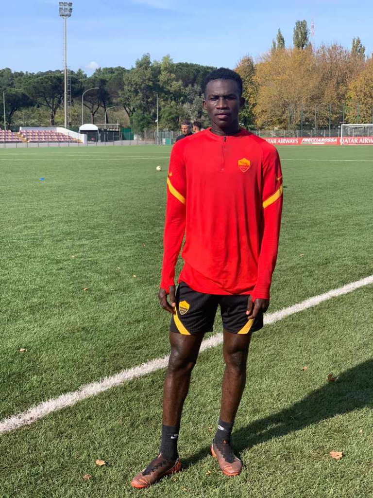 AS Roma sign Ghanaian youngster Felix Afena-Gyan