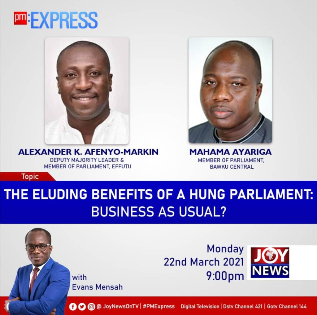 Playback: PM Express assesses Ghana's hung Parliament so far