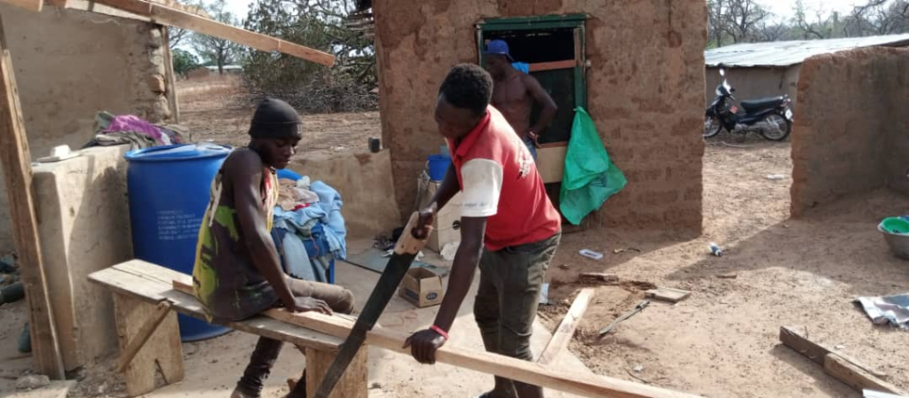 Damongo: Rainstorm displaces about 230 residents in three Frafra communities