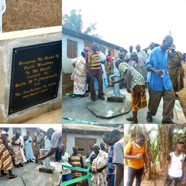 Two sisters raise funds in American community to provide clean water for Ghanaian villages