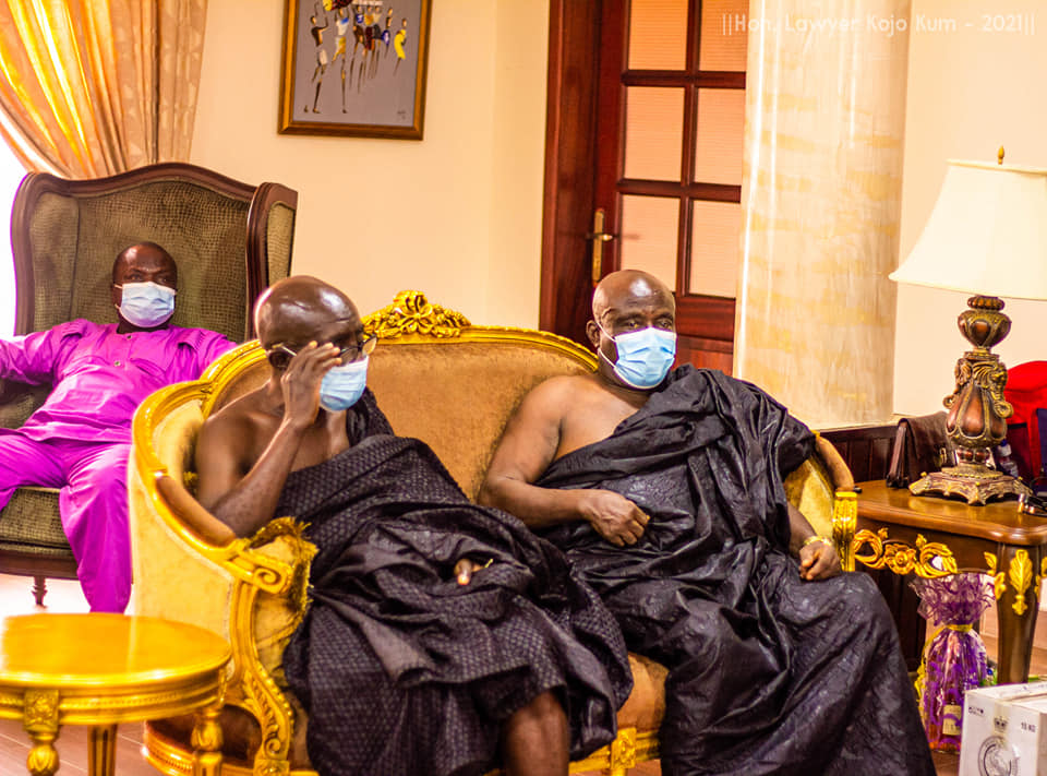 The law banning chiefs from engaging in politics is unjust – Okyenhene