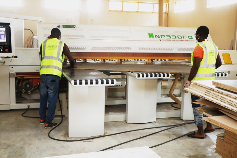 Photos: Woodeck Company Limited commissions factory, showroom