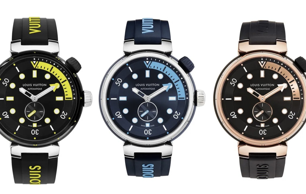 Louis Vuitton gives the diver watch a high-fashion makeover
