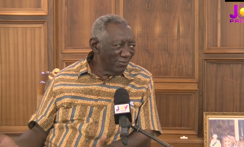 Former President Kufour.