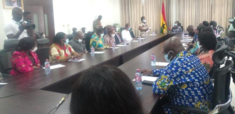Ghana Mission in Washington, others donate $59,850 to Covid-19 fund