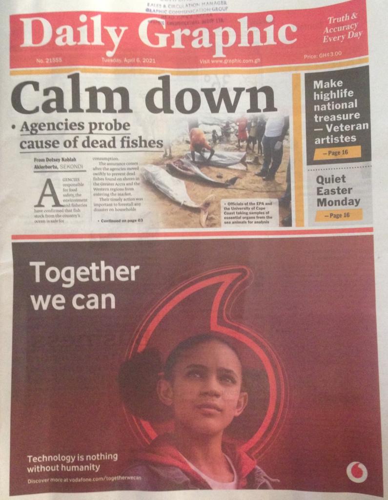 Newspaper headlines: Tuesday, April 6, 2021. 12