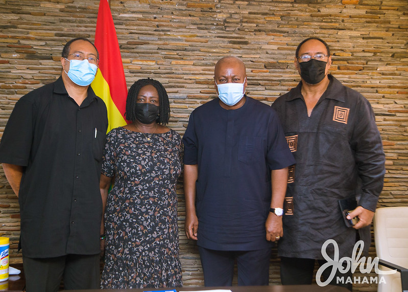This image has an empty alt attribute; its file name is John-Mahama-receives-family-of-the-late-Dr.-Emmanuel-Evans-Anfom-1.jpg