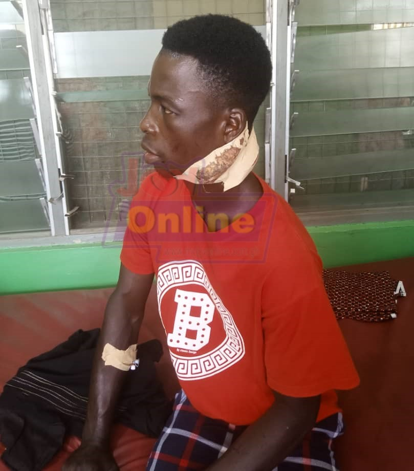 Woman arrested for inflicting cutlass wounds on husband