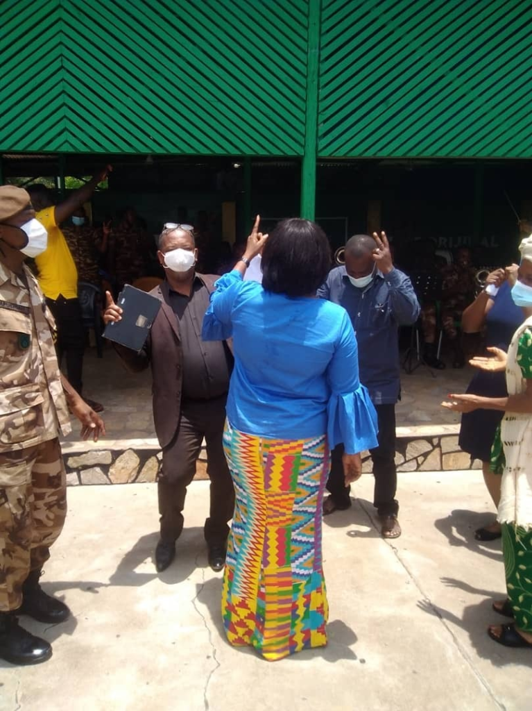 MPs equip health centre at Ho Central Prisons