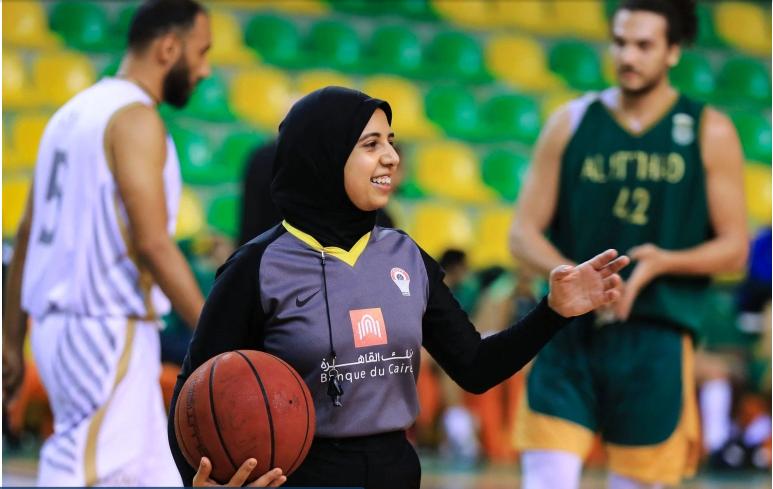 Sarah Gamal: First Arab female basketball referee at Olympics