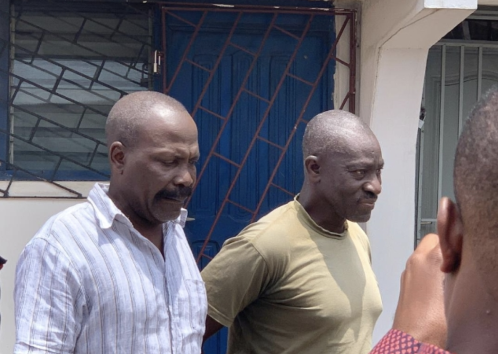 ACP Agordzo, 9 others re-arrested and charged with high treason