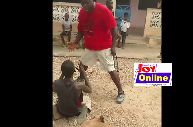 Man allegedly lynched for stealing pregnant goat at Nsawam. 7