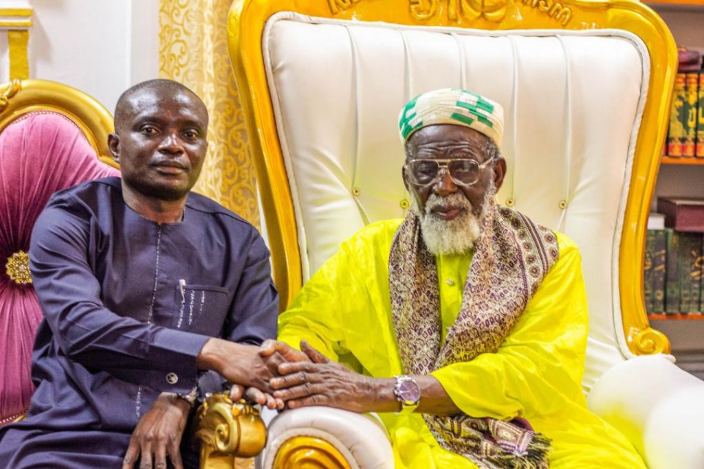 Chieftaincy Minister, Ebenezer Kojo Kum and Sheikh Osmanu Nuhu Sharubutu