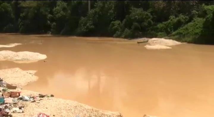 16 'galamsey' excavators seized at Amenfi West in Western Region. 55