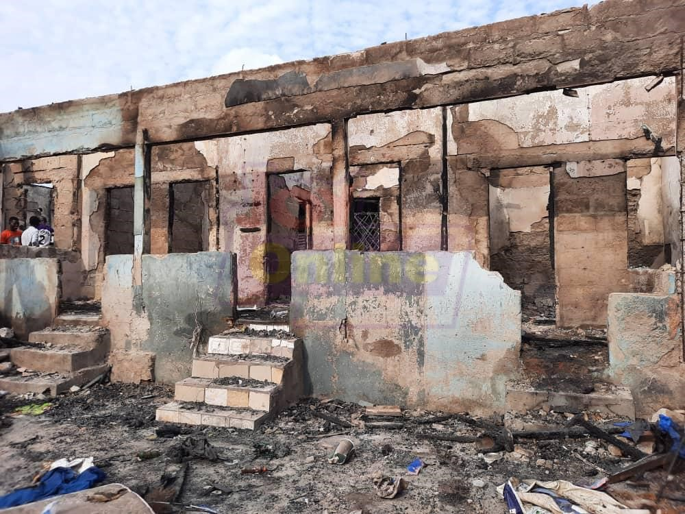 40 displaced after fire destroys house at Anloga junction