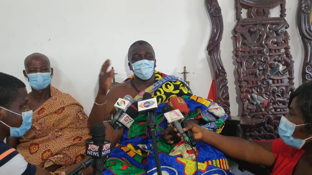 Take a patriotic stance against illegal mining activities - Esikado Chief to Lands Minister