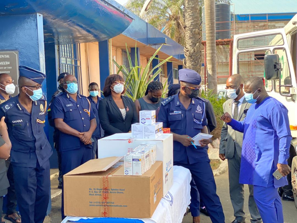 Police Hospital gets massive donation from Tobinco