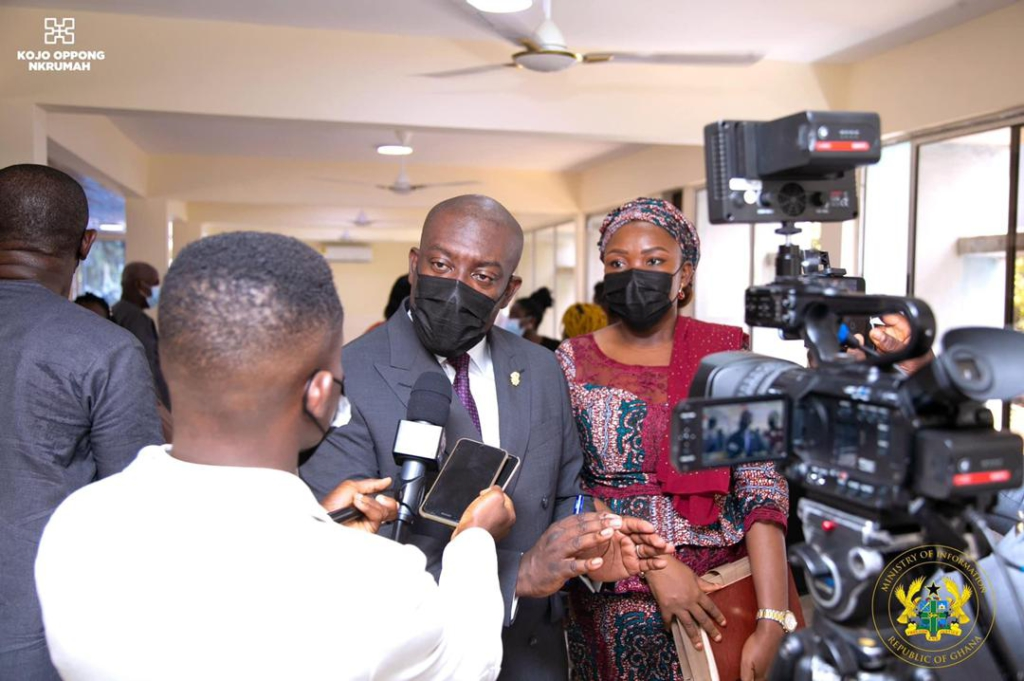 Carve a new niche to remain relevant – Oppong Nkrumah charges GNA