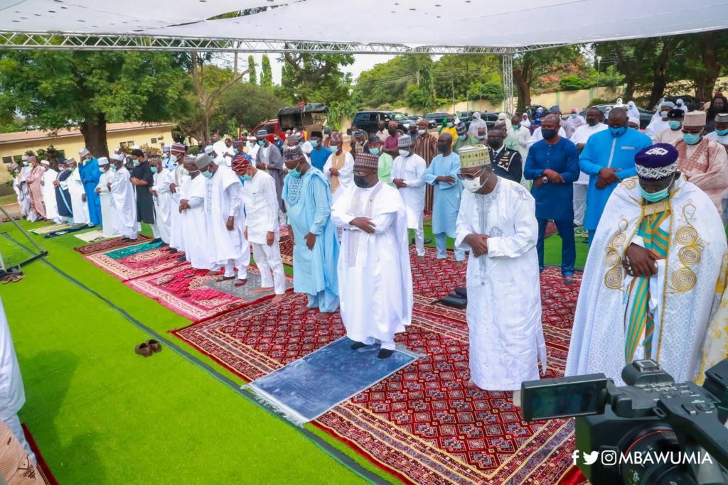 Photos from the 2021 national Eid-ul-Fitr ceremony