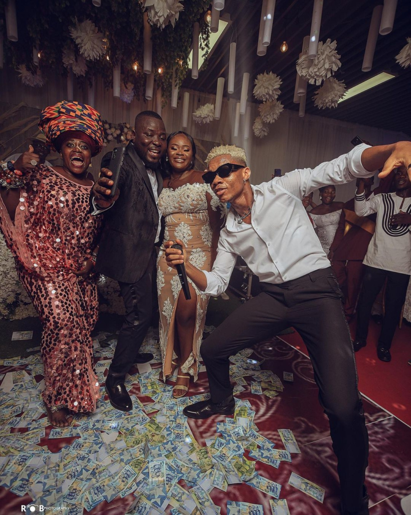 Hitz FM's Dr Poundz ties the knot in a star studded ceremony