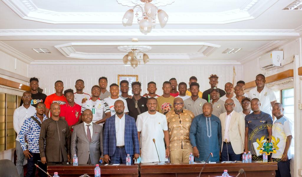 2021 U20 AFCON: Akufo-Addo redeems $10,000 pledge to Satellites
