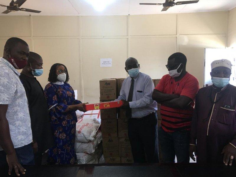 Ablekuma Central MCE donates to Muslim community