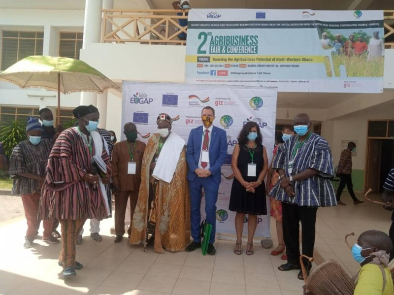 Agribusiness will give meaning to new paradigm of 'trade, not aid' – U-W Regional Minister
