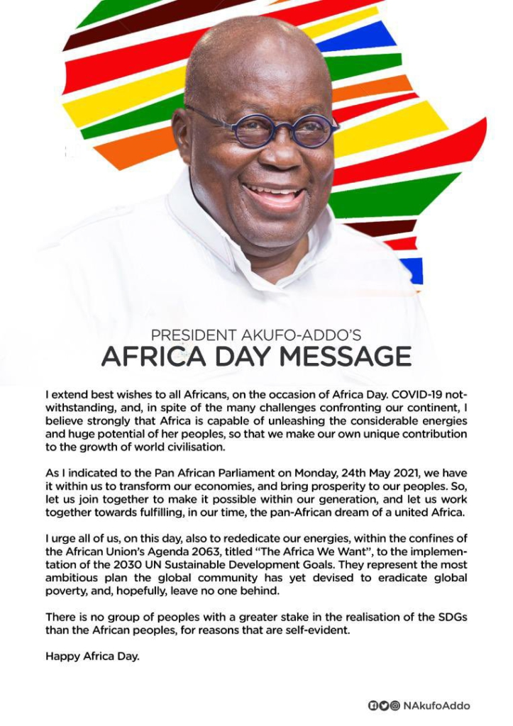 AU Day: Africa has what it takes to transform its economies and bring prosperity - Akufo-Addo