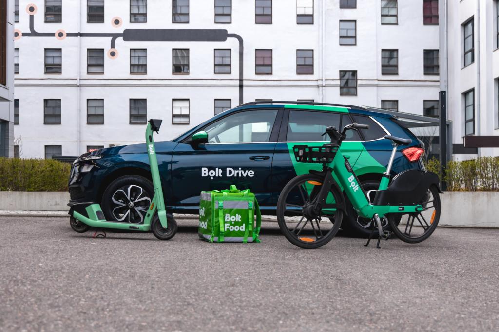 Bolt launches its car-sharing service Bolt Drive