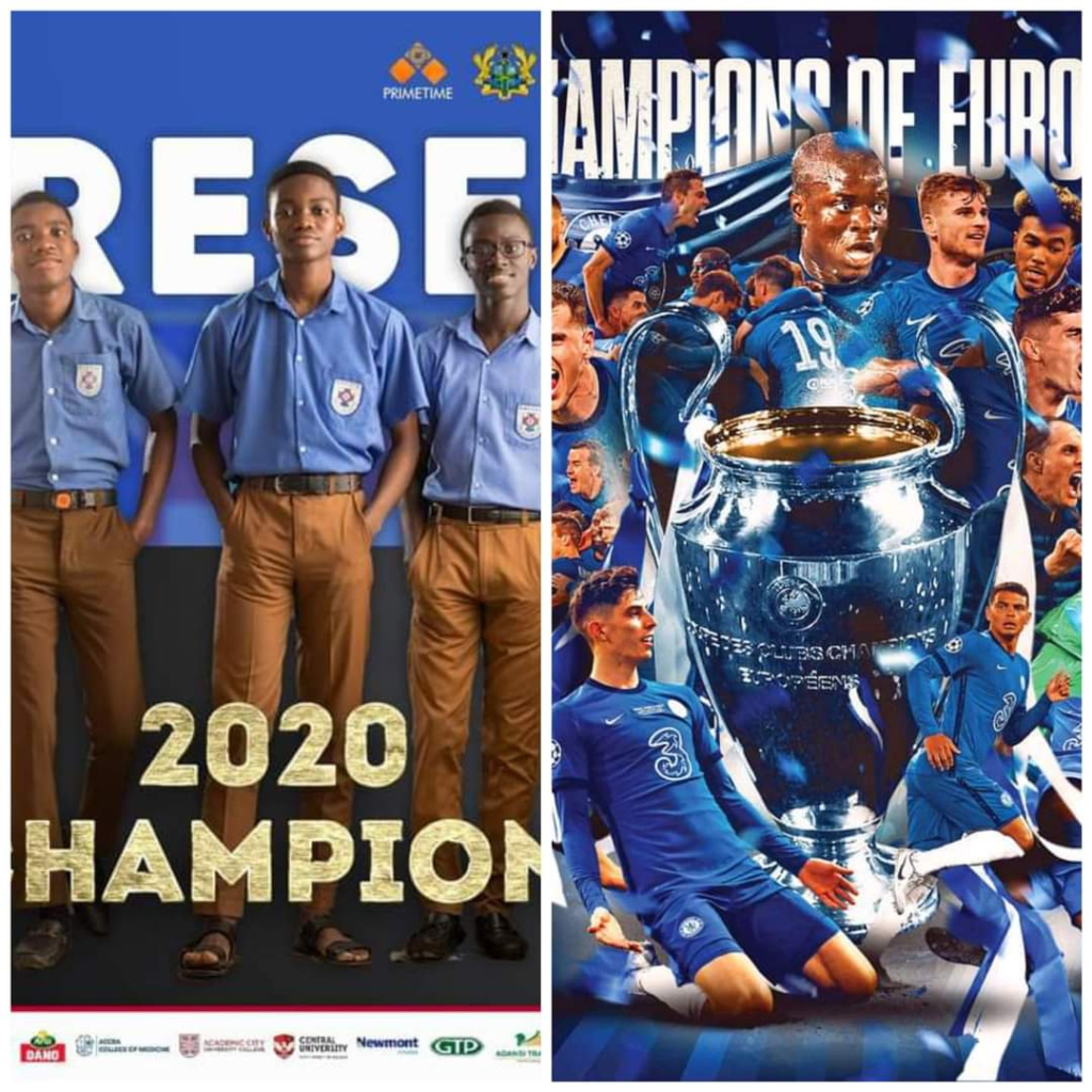 Love for The Blues: How three 'Odadie'Chelsea fans became composers, moonwalk dancers and a gentle hulk after Champions League victory