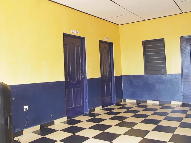 Police encourage residents to volunteer information as it commissions office built by Church of Pentecost