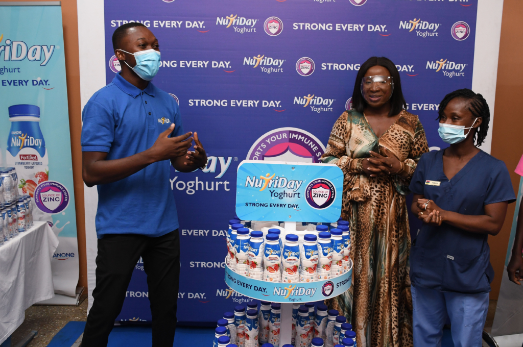 NutriDay celebrates Mother's Day with mothers at 37 Military Hospital