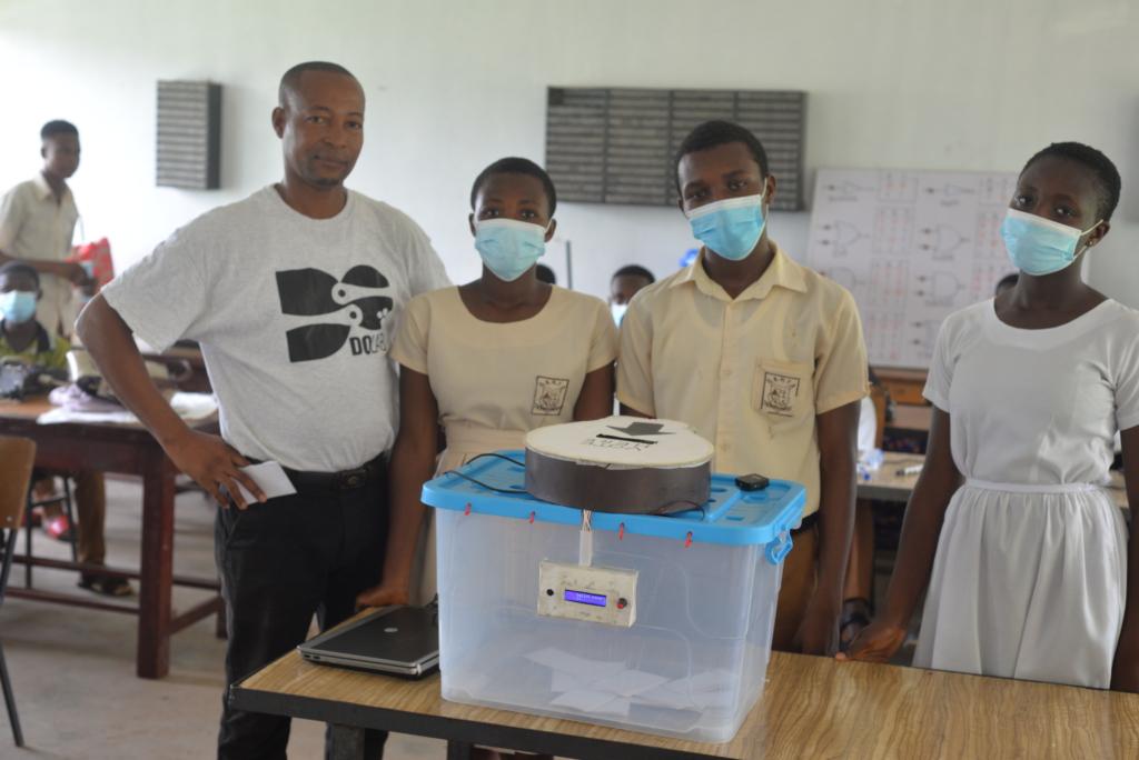 Students of Obuasi Sec Tech develop smart ballot box