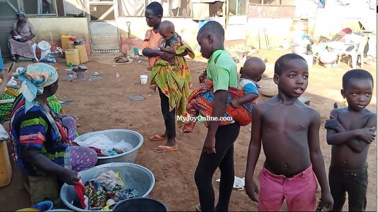 Stranded Damongo flood victims went to bed without food