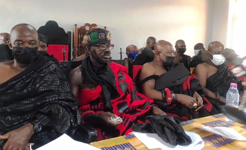 Denkyira Chiefs rally to fight illegal mining