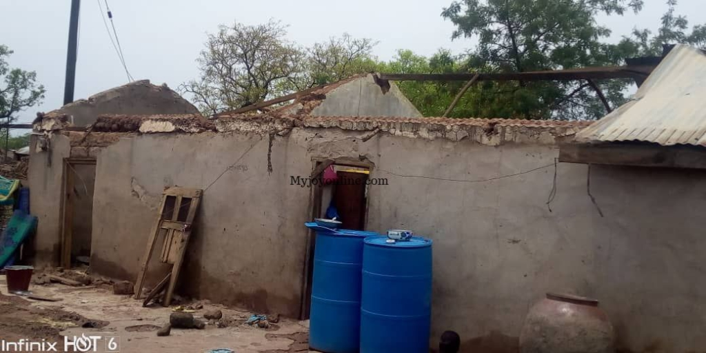 Residents, students in Yapei displaced after rainstorm