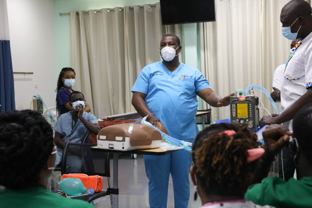 First phase of US-supported Covid-19 critical case management training in Ghana ends